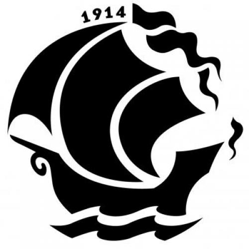 The New Republic's logo: a ship that set sail in 1914, about 100 years ago